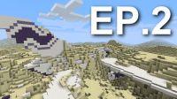 找到住所和马匹【我的世界 Minecraft】荒漠求生 EP.2