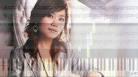 每天第一件事, 梁靜茹 Fish Leong (鋼琴教學) Synthesia 琴譜 Sheet Music