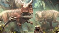 【亮哥】夺命侏罗纪#132 牛龙 长牛角★恐龙公园狩猎游戏