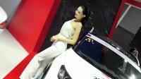 2017广州车展 东南汽车车模 气质白领范