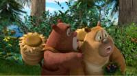 熊出没之熊熊乐园 熊出没雪岭熊风夺宝熊兵熊二变身飞行员筱白解说