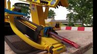 地下水平钻机是如何工作的, 遇到大树根怎么办, 看完视频就明白了