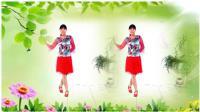 河北青青广场舞《爱情就像一首歌》16步, 好听好看好学