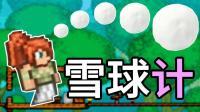 [宝妈趣玩]泰拉瑞亚★大修生存02: 三只小猪盖房子? 把宝爸关在门外打怪! (Terraria联机)