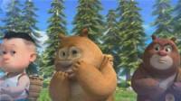 熊出没之熊熊乐园 熊出没雪岭熊风夺宝熊兵熊大可怕的火球筱白解说