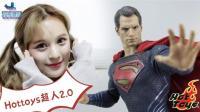 137 看完《正义联盟》,就想玩HOTTOYS超人2.0