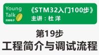 STM32入门100步(第19步)工程简介与调试流程