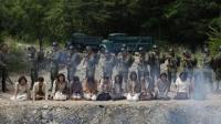 《鬼乡》一部讲述慰安妇集中营的故事, 揭露了日军的残暴人性