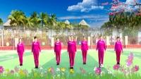 建群村广场舞32步步子舞《爱的翅膀》编舞 彭晓晖2017年最新广场舞