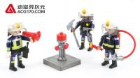 【动漫异次元】摩比世界 城市行动 消防 5366 消防救援队