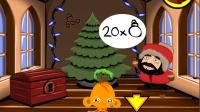 4399小游戏逗小猴之圣诞节 密室逃脱 逗小猴开心