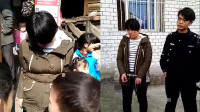 女子盗窃被当人贩子 被抓后绑电线杆示众