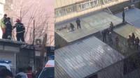 男子杀害妻儿后跳楼 警方已成立专案组