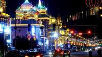 额尔古纳市的夜晚--男博万视觉