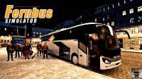 【LRTINTER】长途客车模拟 #084 夜环乌瑟多姆岛 Fernbus Simulator