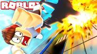 【Roblox飞机逃生模拟器】乘坐死亡航班! 降落小岛荒岛求生! 小格解说 乐高小游戏