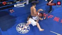 最暴力KO 日本拳王遭中国小伙几十拳砸头KO 险砸死在场上