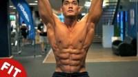 职业形体冠军Nicolas Iong的六个腹肌核心训练