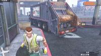 亚当熊GTA5,熊哥化身成最帅环卫工开垃圾车捡垃圾