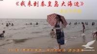 我来到秦皇岛大海边