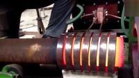 第一次见钢管的扩孔加工, 长见识了!