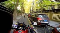 骑着摩托逛成都, 锦绣巷看银杏的好去处