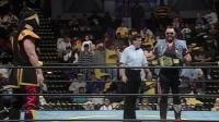 WCW经典回顾: 壮汉One Man Gang一人帮 VS 忍者勇士