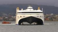 世界上速度最快客船, 時速110km, 贴着水面飞行, 可载1千乘客