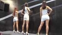 3个大长腿美眉现场热舞, 洋溢青春活力