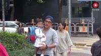 李湘和刘恺威接送孩子, 真是没有对比就没有伤害呢