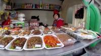 实拍朝鲜平壤的街头美食, 带你看到最真实的朝鲜, 感觉还不错