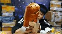 试吃巨型俄罗斯列巴面包, 这是我见过最大的面包