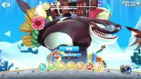 【肉肉】饥饿鲨鱼游戏世界205#胖子杀人鲸!