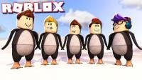 【Roblox企鹅模拟器】扮演马达加斯加的企鹅! 勇斗南极鲨鱼! 小格解说 乐高小游戏