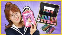美妙天堂美少女彩妆日记本! 手绘美装DIY玩具!