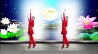 建群村广场舞《月光草原》编舞 沭河清秋2017年最新广场舞带歌词