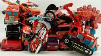 擎天柱 红车变形金刚 挖掘机变身玩具 消防车机器人 大黄蜂 世代玩具 ★ 垣垣玩具 ★