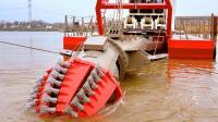 世界一流的先进机械, 这才是真正的河道清理机