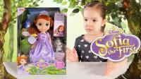 Lucas和Lily玩具 2017: 迪士尼Sofia公主玩具 混血萌娃小精灵 芭比娃娃 苏菲亚梦游仙境