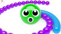 超酷色彩小球小球变脸游戏英语七彩小球色彩英语儿童英语ABC少儿英语ABC