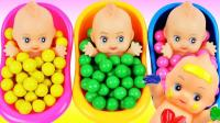 萌宝最爱泡泡糖娃娃浴, 儿童色彩认知宝宝洗澡也可以这么有趣!