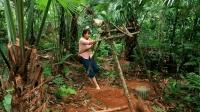中国女孩丛林生存, 现在开始徒手打井了