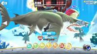 【肉肉】饥饿鲨鱼游戏世界207#吃鲸鱼的巨齿鲨!