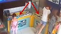 年轻女子带着女儿去买手机, 监控拍下无语一幕!