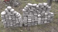 老师傅捡来一堆废铝破烂, 最后熔成526公斤铝锭, 真是赚大发了