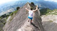 地球最强跑者山脊狂飙 惊险越野步步惊心