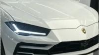 2018款兰博基尼SUV刚到店, 打开LED灯和无框车门后让卡宴不再辉煌
