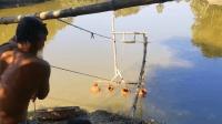 印度人发明捕鱼系统你肯定没见过, 不得不佩服阿三的脑洞
