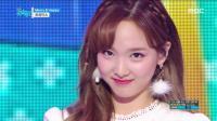 【风车·韩语】TWICE后续回归舞台《Merry&Happy》音乐中心现场版