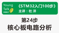 STM32入门100步(第24步)核心板电路分析